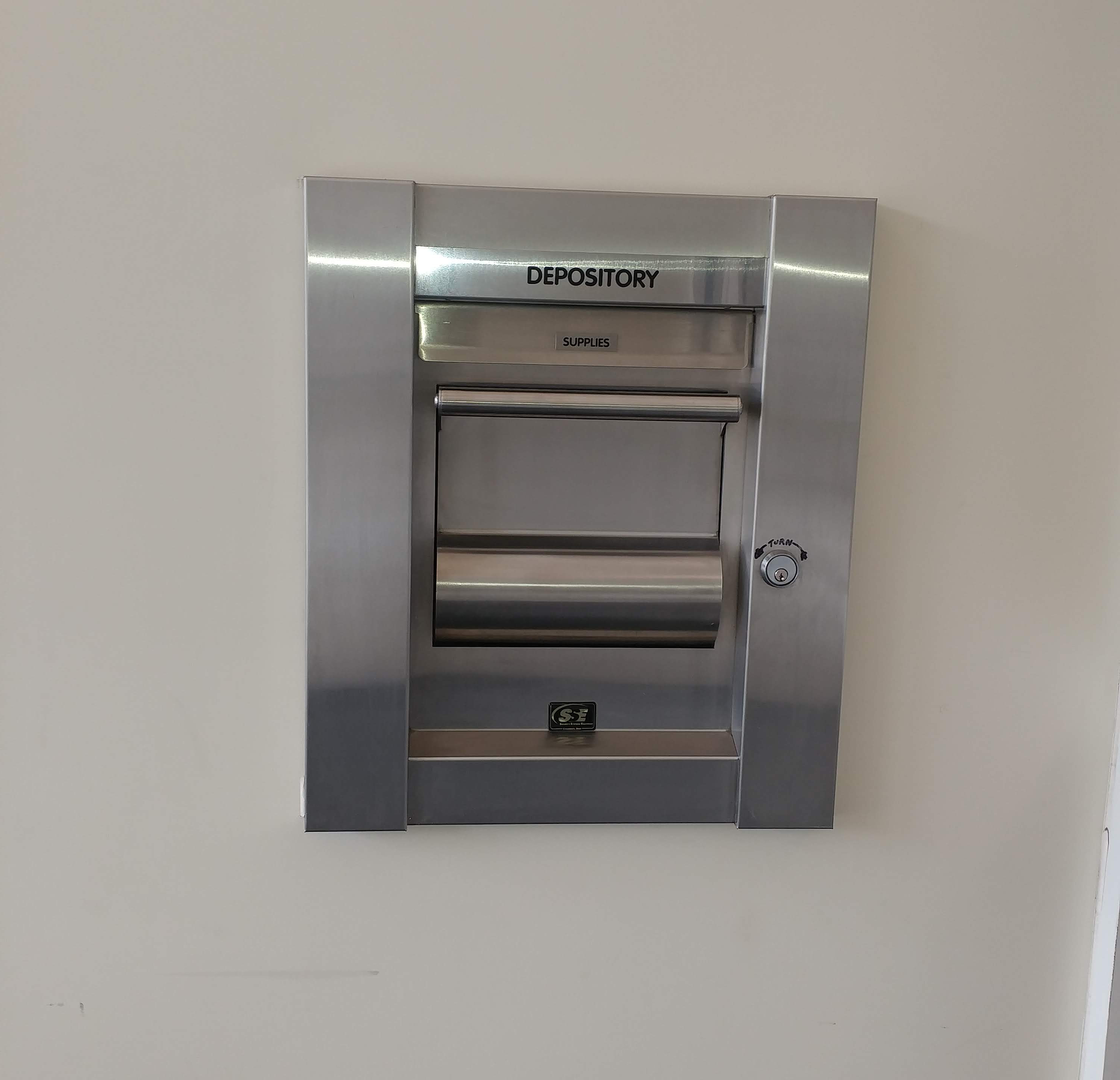 night deposit box at the gfcu north adams branch